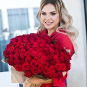 Grande Red Roses